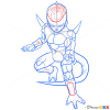 How to Draw Frieza, Dragon Ball Z