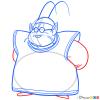 How to Draw King Kai, Dragon Ball Z