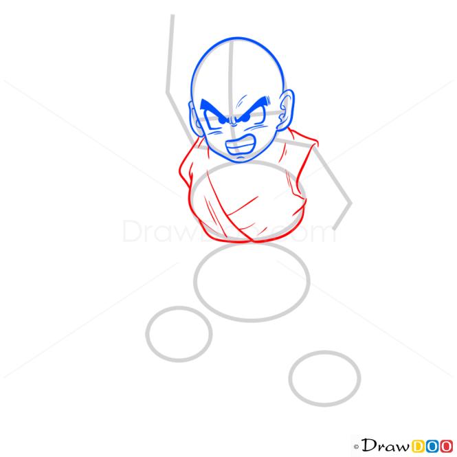 How to Draw Krillin, Dragon Ball Z