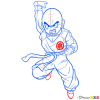 How to Draw Krillin, Dragon Ball Z