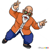 How to Draw Master Roshi, Dragon Ball Z