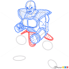 How to Draw Nappa, Dragon Ball Z