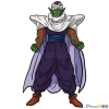 How to Draw Piccolo, Dragon Ball Z