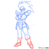 How to Draw Raditz, Dragon Ball Z