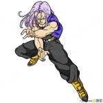 How to Draw Trunks, Dragon Ball Z