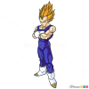 How to Draw Vegeta, Dragon Ball Z