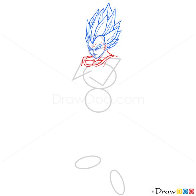 How to Draw Vegeta, Dragon Ball Z
