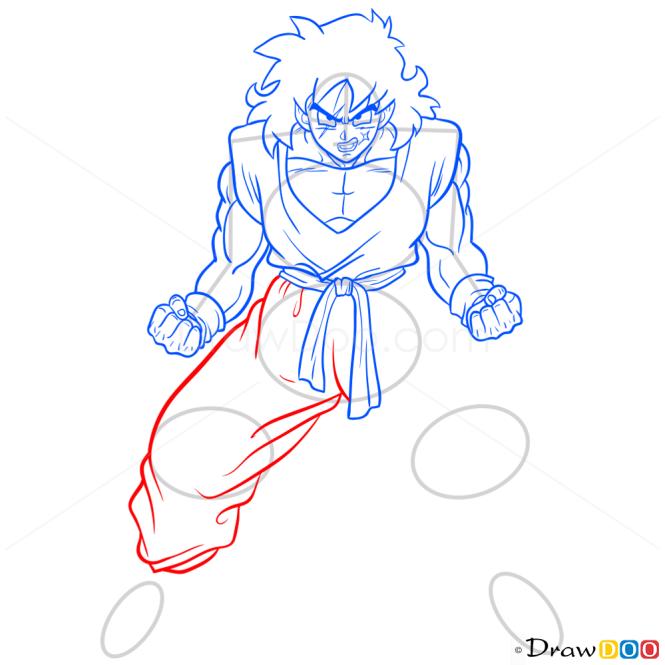 How to Draw Yamcha, Dragon Ball Z