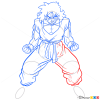 How to Draw Yamcha, Dragon Ball Z