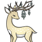 How to Draw Fantastic Deer, Deer