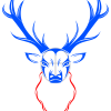 How to Draw Tribal Deer Tattoo, Deer