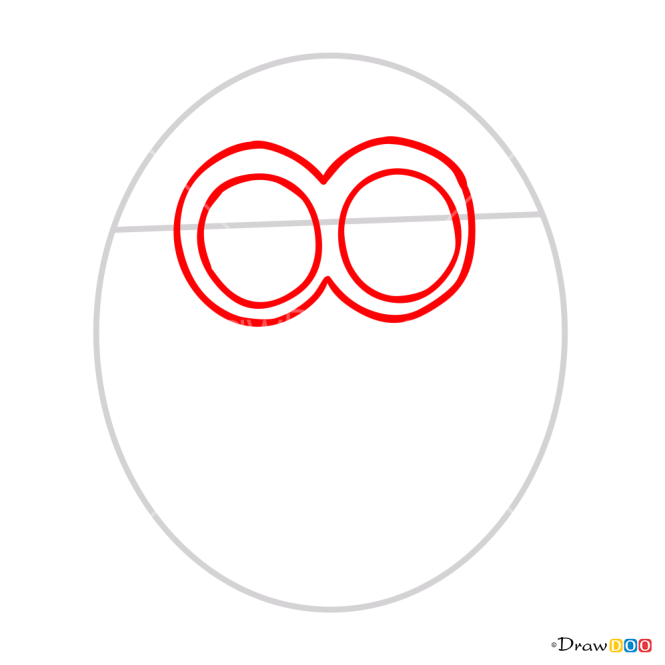 How to Draw Minion Jerry, Despicable Me