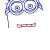 How to Draw Dave Minion, Despicable Me