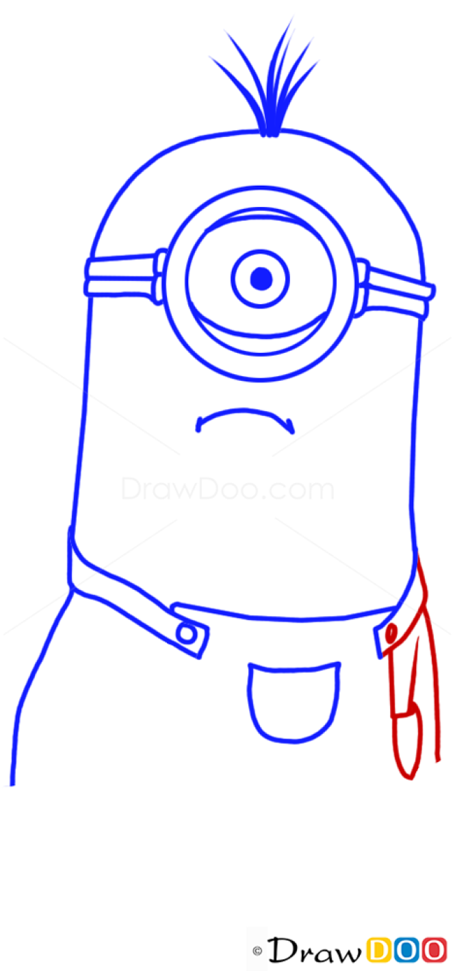 How to Draw Stewart Minion, Despicable Me