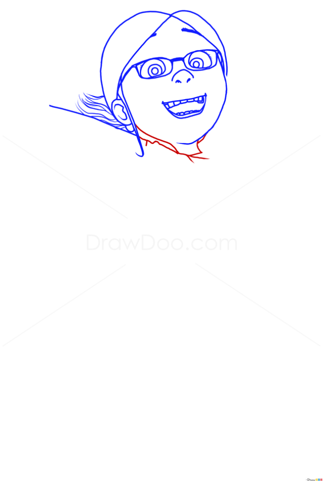 How to Draw Margo, Despicable Me