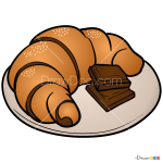 How to Draw Croissant, Desserts