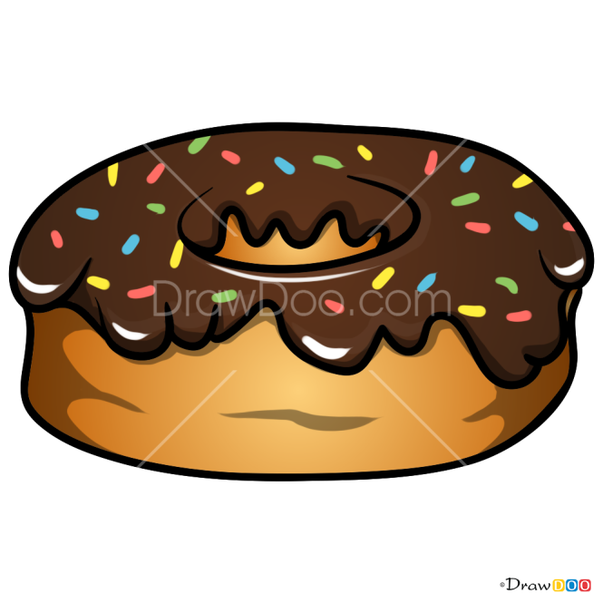 How to Draw Donut, Desserts