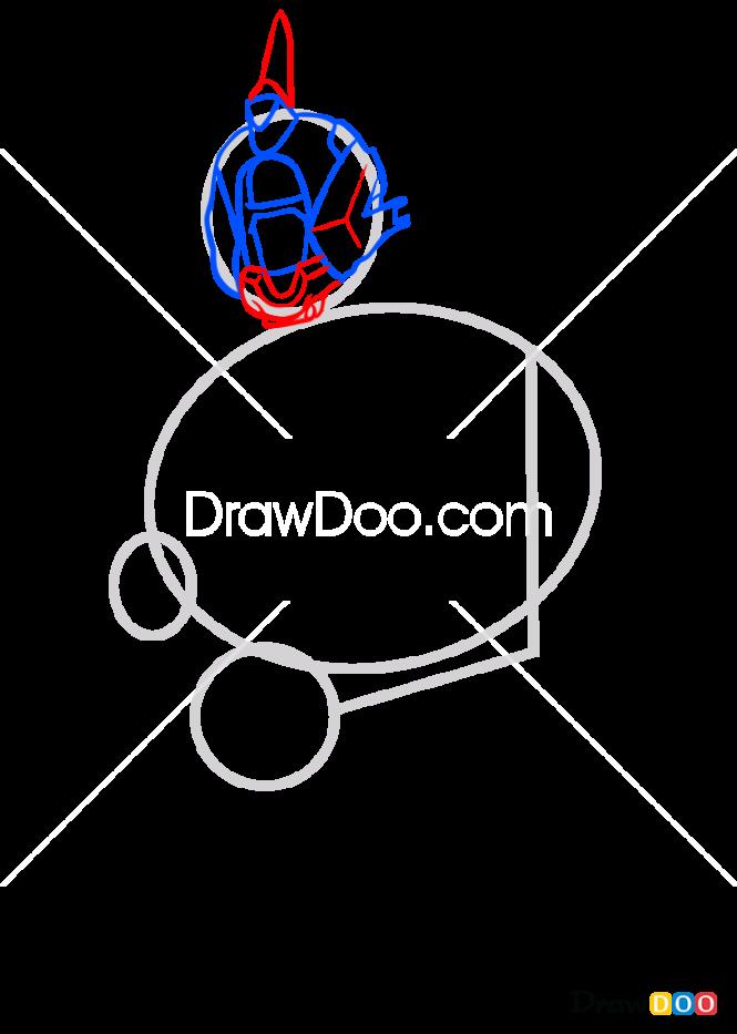 How to Draw Warlock, Destiny