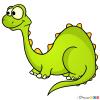 How to Draw Diplodocus, Dinosaurus