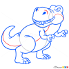 How to Draw Tyrannosaurus, Dinosaurus