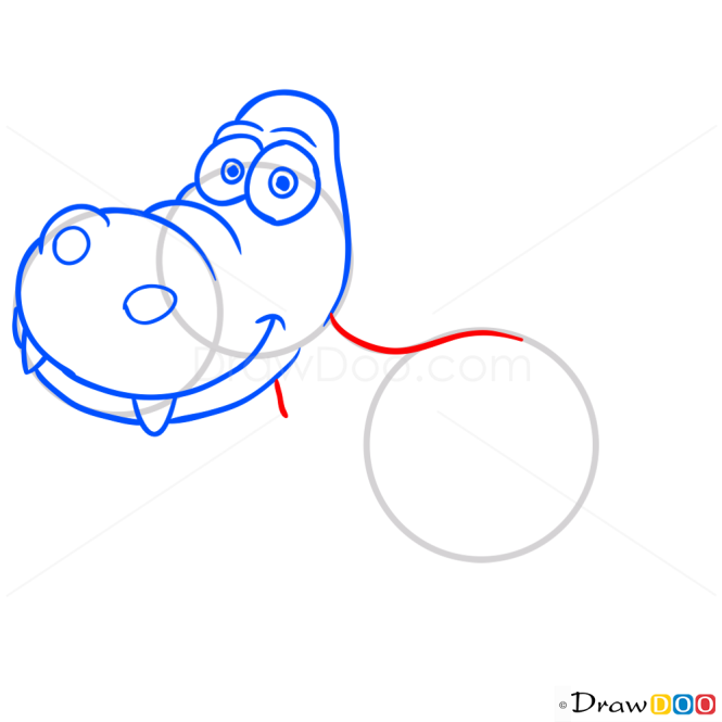 How to Draw Kriptops, Dinosaurus