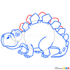 How to Draw Stegosaurus, Dinosaurus