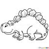 How to Draw Stegosaurus, Dinosaurus