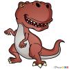 How to Draw Karharodontosaur, Dinosaurus