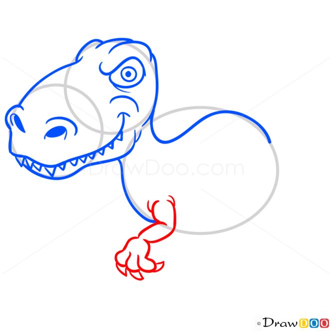 How to Draw Iguanodon, Dinosaurus