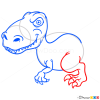 How to Draw Iguanodon, Dinosaurus