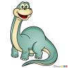 How to Draw Brachiosaurus, Dinosaurus