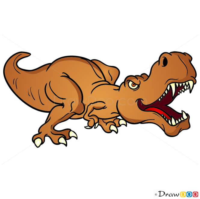 How to Draw Tarbosaurus, Dinosaurus