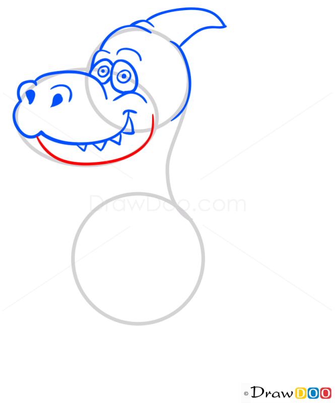 How to Draw Parazaurolof, Dinosaurus