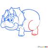 How to Draw Triceratops, Dinosaurus