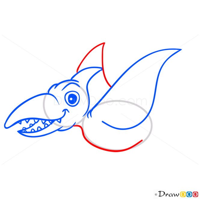 How to Draw Ramforinh, Dinosaurus