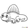 How to Draw Dimetrodon, Dinosaurus