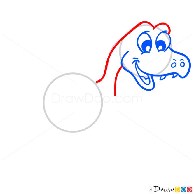 How to Draw Fukuiraptor, Dinosaurus