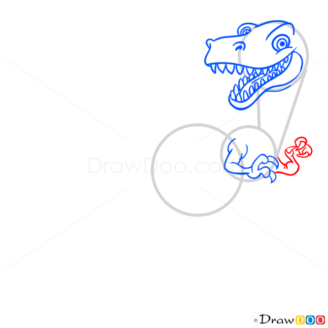 How to Draw Coelophysis, Dinosaurus