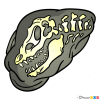 How to Draw Fossil, Dinosaurus
