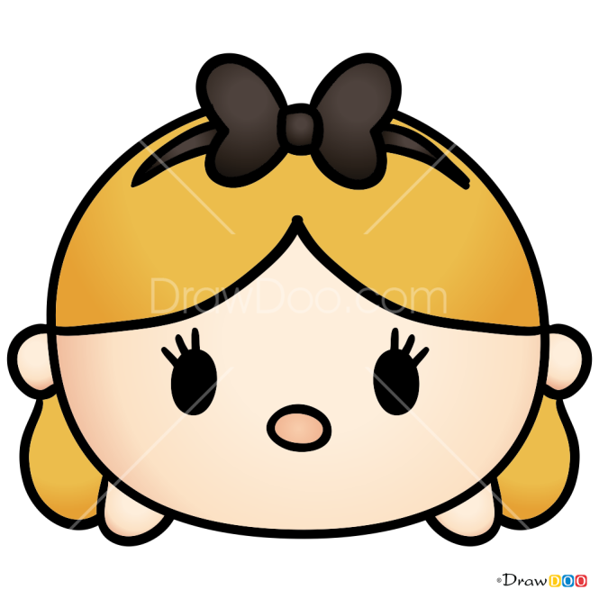 How to Draw Alice, Disney Tsum Tsum
