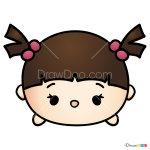 How to Draw Boo, Disney Tsum Tsum