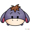 How to Draw Eeyore, Disney Tsum Tsum