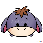 How to Draw Eeyore, Disney Tsum Tsum