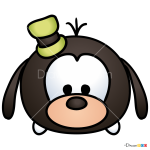 How to Draw Goofy, Disney Tsum Tsum