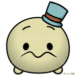 How to Draw Jiminy Cricket, Disney Tsum Tsum