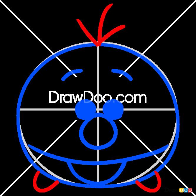 How to Draw Olaf, Disney Tsum Tsum