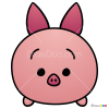 How to Draw Piglet, Disney Tsum Tsum