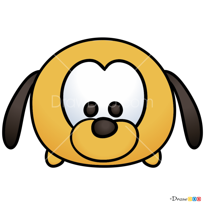 How to Draw Pluto, Disney Tsum Tsum