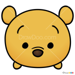 How to Draw Pooh, Disney Tsum Tsum