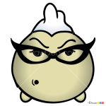 How to Draw Roz, Disney Tsum Tsum